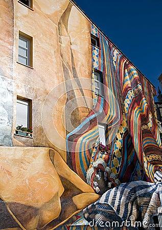 Graffiti Editorial Stock Photo