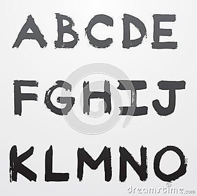 Graffiti alphabet part 1