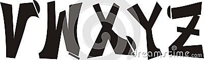 Graffiti alphabet (part 3)