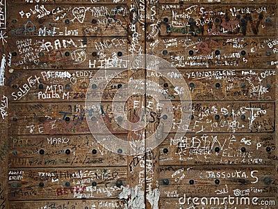 Graffiti arabe