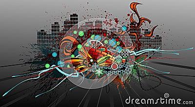 Graffiti di Grunge