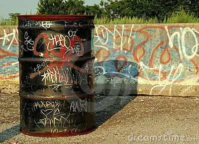 Graffiti Drum