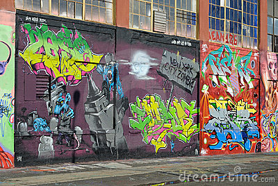 Graffiti at Five Pointz Editorial Image