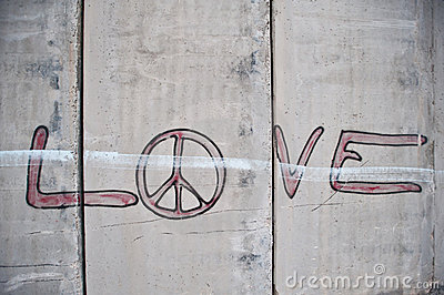 Graffiti on Israeli Separation Barrier