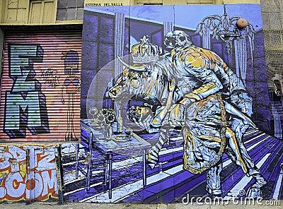 Graffiti in New York City Editorial Image