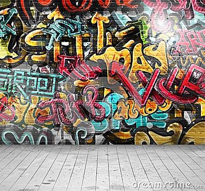 Free Graffiti On Wall Stock Photography - 33834352