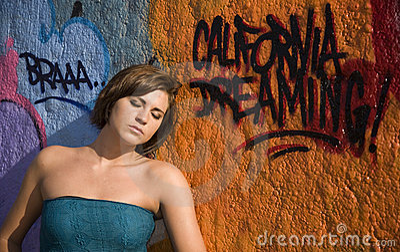 Graffiti Pose 8