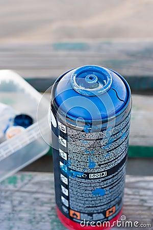 Graffiti  spray can s