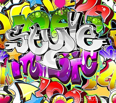Free Graffiti Urban Art Background Royalty Free Stock Images - 23201869