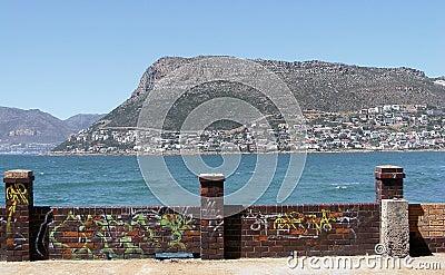 Graffiti wall
