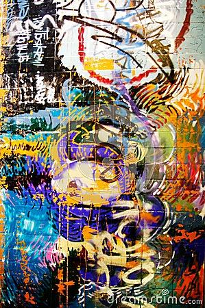 Free Graffiti Wall Stock Image - 3916661