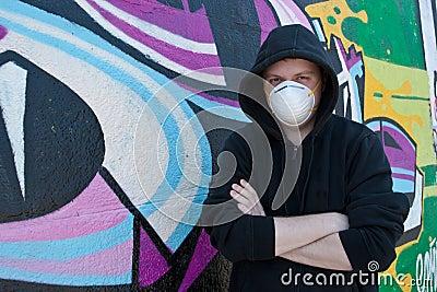 Graffity painter.