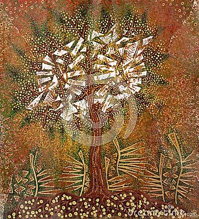 Grafic art  tree