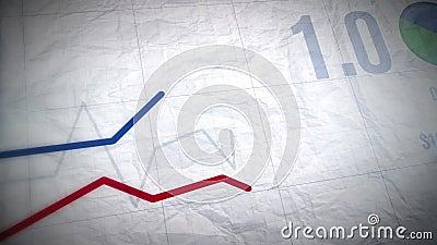 Grafici crescenti di affari