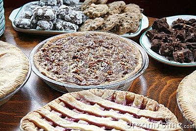 Grafici a torta e biscotti