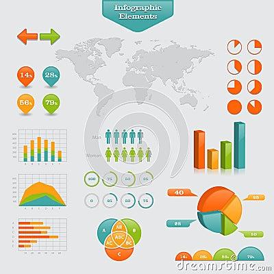 Grafico di affari Info