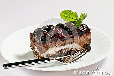 Grafico a torta della ciliegia