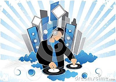 Grafisch van deejay