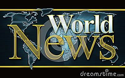 Grafische het Nieuws van de wereld