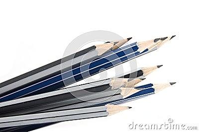 Grafitowi ołówki