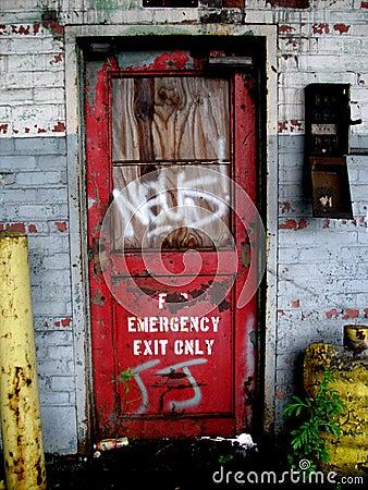 Free Grafitti Door - Vertical Royalty Free Stock Photo - 6069435