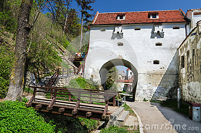 Graft Bastion, Brasov medieval city, Romania