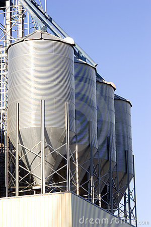 Free Grain Bins Stock Photography - 46972