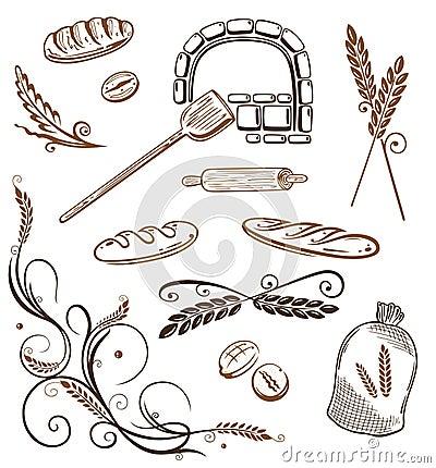 Grain, bread, wheat, bakery