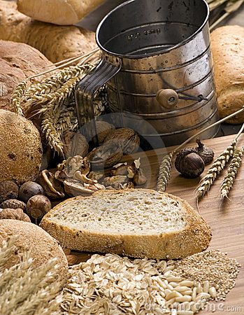 Free Grain Breads 11 Royalty Free Stock Photography - 1595657