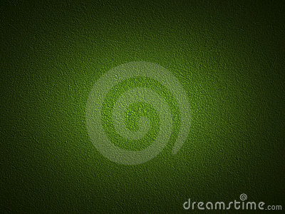 Grain dark green paint wall