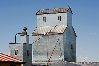 Grain Elevator Royalty Free Stock Photo - Image: 13073035