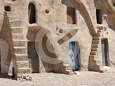 Grain stores in Tunisia