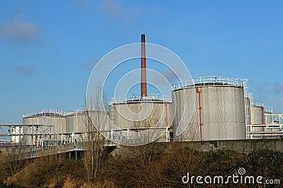 Grains silos