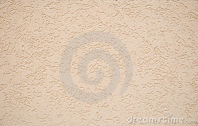 Grained beige wall background