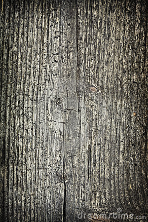 Grained wood