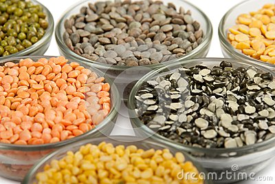 Grains pulses and beans
