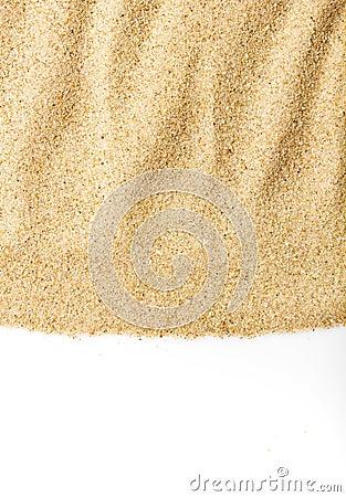Grainy sand