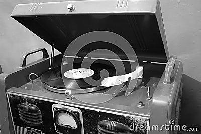 Gramófono viejo
