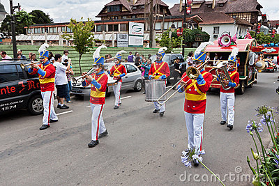 Gramado Christmas Parade Brazil Editorial Photography