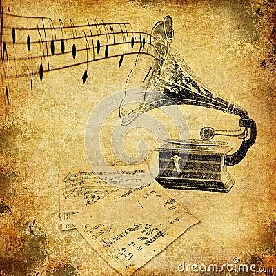 Car Sound Effects >> Gramophone Nostalgia Stock Images - Image: 23054924