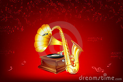 Gramophone and Saxophone