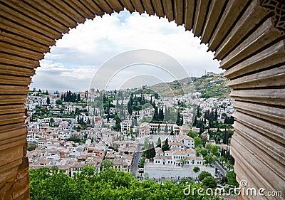 Granada framed