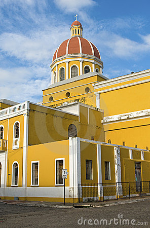 Free Granada, Nicaragua Cathedral Royalty Free Stock Images - 21338709