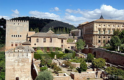 Granada, Spain:  The Alhambra