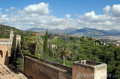 Granada, Spain: View from Alhambra