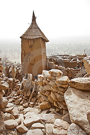 Free Granary In A Dogon Village, Mali (Africa). Royalty Free Stock Images - 21234149
