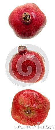 Granatapfel-Trio