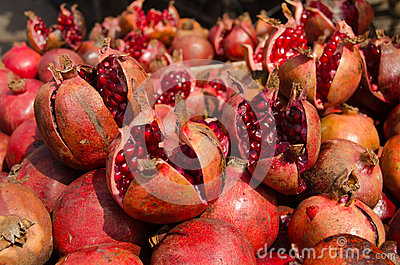 Granatäpplen Indien