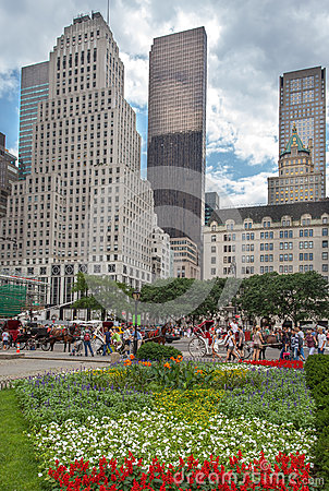 Grand Army Plaza New York City Editorial Photography