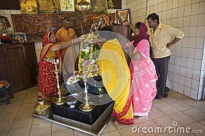 Grand Bassin Hindu Temple, Mauritius Editorial Image